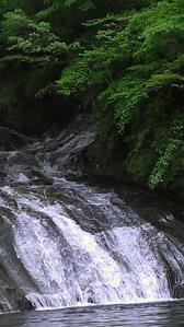 栗又の滝へ 滝巡り8-1