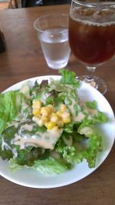 ナボリタンのセットサラダ