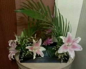 7月お稽古花 開花-1