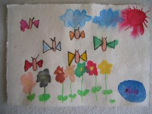 タイ手漉き紙1