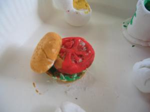 おやゆびハンバーガー