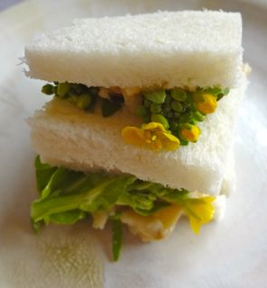 菜の花サンド2