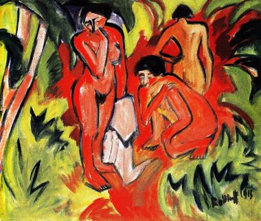 葦の茂みの中の裸婦1913年_convert_20100316181454