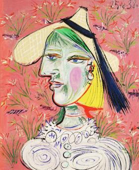 花の前の麦わら帽子を被った女1938年6月_convert_20100511221509