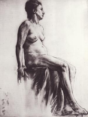 裸婦習作1888年_convert_20100603122601