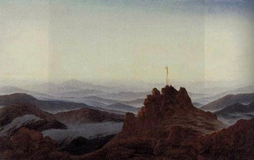 リーゼンゲビルゲ山の朝1810~11年_convert_20100827103443