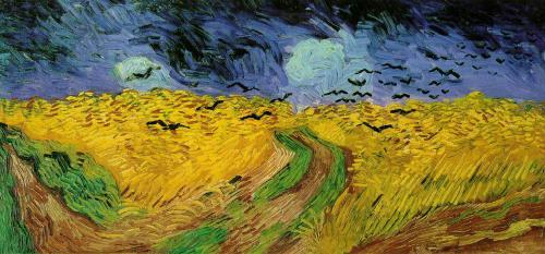 カラスのいる麦畑1890年7月オーヴェール_convert_20110109113704