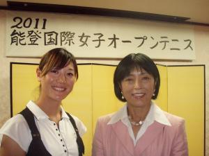 佐藤直子さんと一枚
