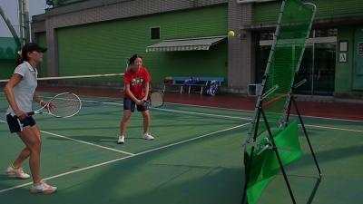 ミラクルテニス撮影