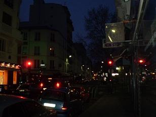 パリのAM7:00過ぎ