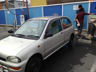 ビビオ洗車