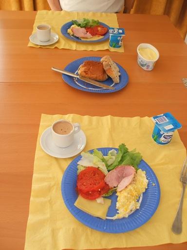 朝食2日目