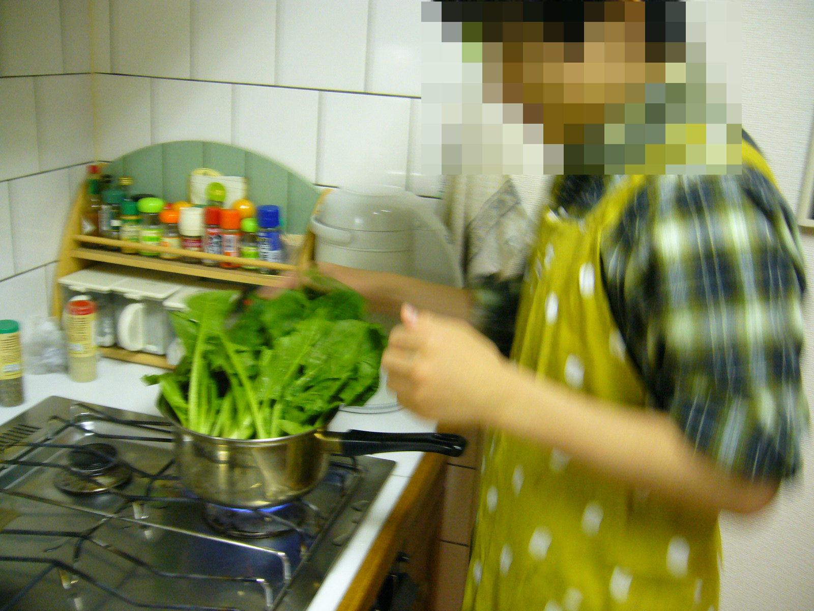 息子の料理2
