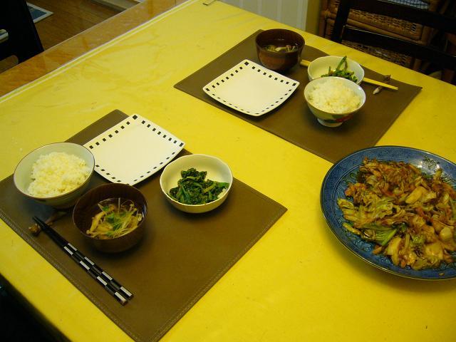 息子の料理3