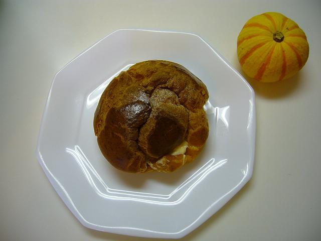 シュークリームとかぼちゃ