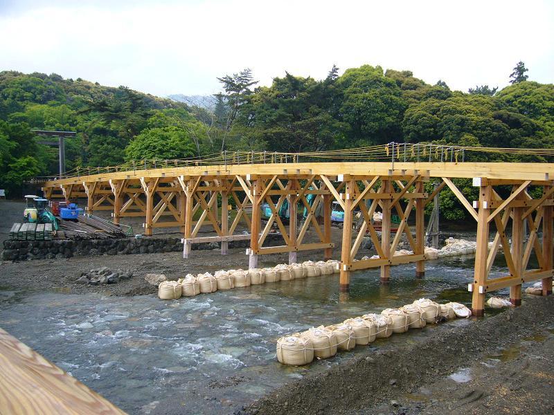 伊勢神宮の橋