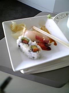 KLMラウンジ食(成田)