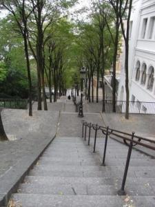 モンマルトル階段