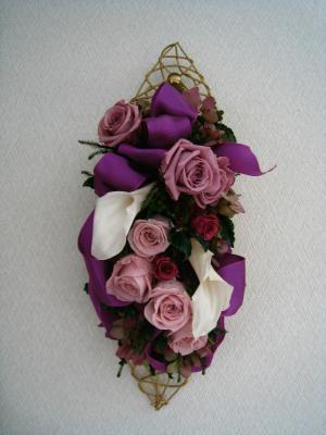 プリザ 紫