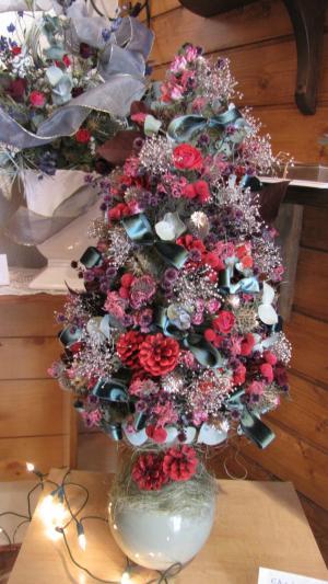 作品展クリスマスツリー
