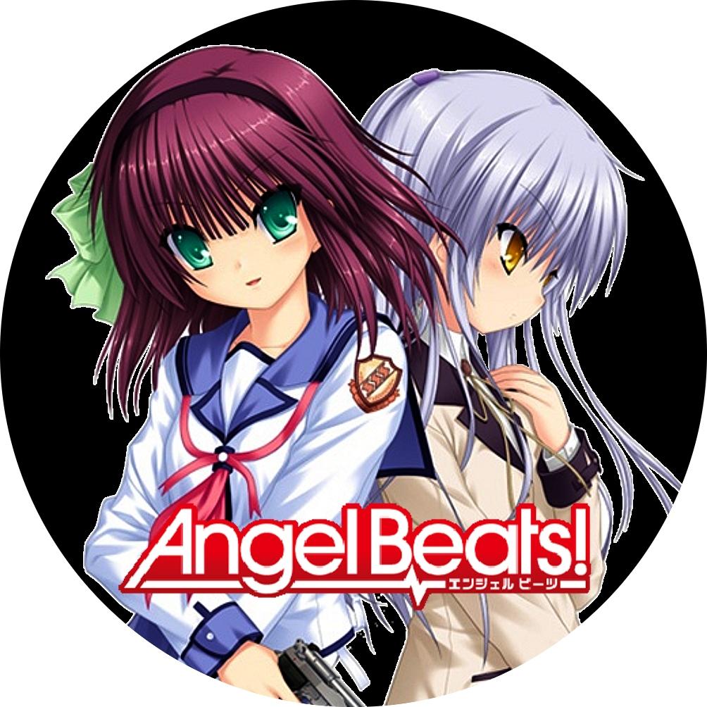 (自作DVDラベル) Angel Beats!