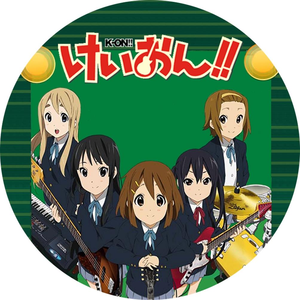 (自作DVDラベル) けいおん!!