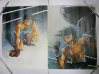 アニメ「あしたのジョー」ポスター