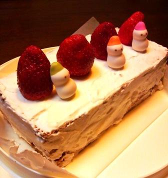渚のケーキ2