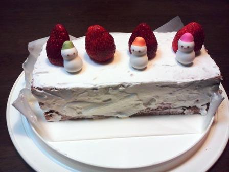 渚のケーキ1