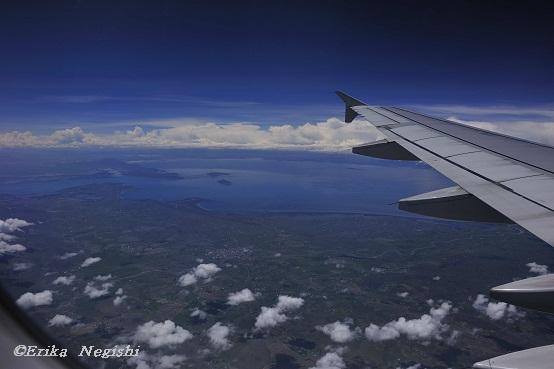 空撮チチカカ湖