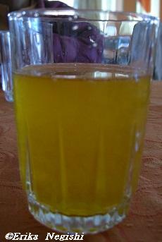 サボテンのジュース