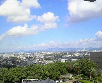 美術館からの眺め