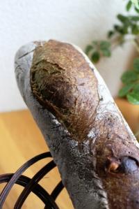 10.08.09ほうれん草とチーズのバゲ_クープ