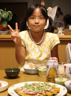 10.08.31長女Birthday1