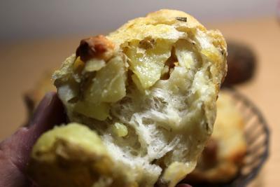 10.10.27ジャガイモとチーズのガレット_断面