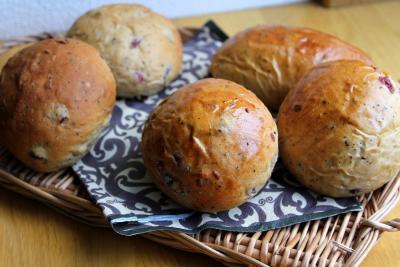 10.11.02クランベリーと紅茶のパン