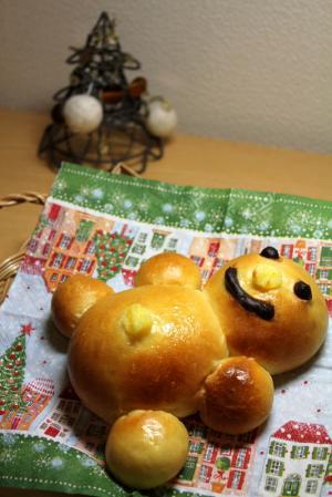 10.12.05ベビー・スノーマンパン