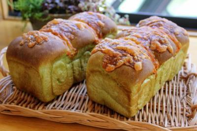 11.01.02ほうれん草チーズ食パン