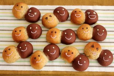 11.01.13りんごとチョコの仲良しパン