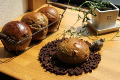 11.04.27クランベリーと紅茶のパン