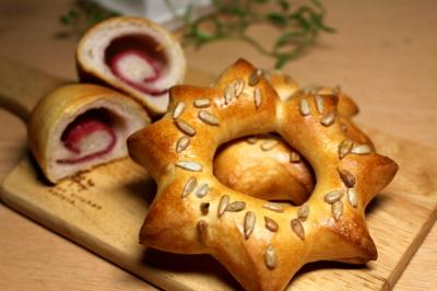 11.05.27ひまわりパン&ハムロール