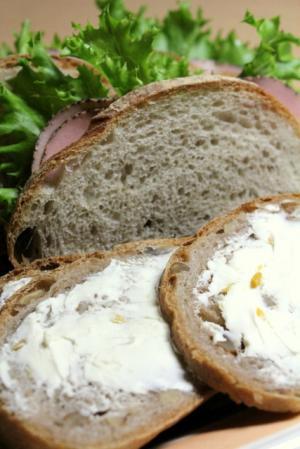 11.11.02昨日のパンを食す
