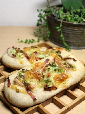 11.11.11ネギとレンコンのおかずパン