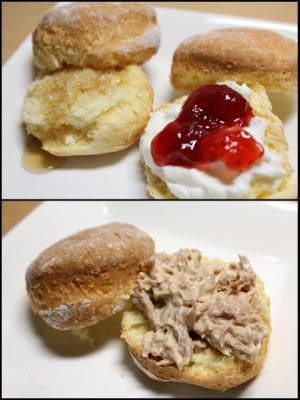 11.11.16ヨーグルトで作るスコーン_朝食