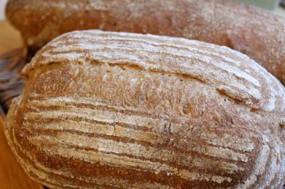 ビール種のパン・ド・カンパーニュ_カゴのん