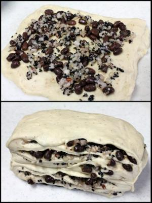 11.11.28小豆と15穀の食パン_ミキシング