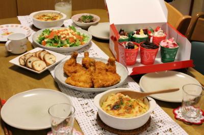11.12.24クリスマスディナー