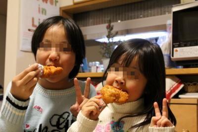 11.12.24クリスマスディナー_娘達