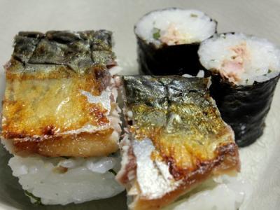 12.01.17焼きサバ寿司