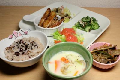 12.03.08お祝いご飯